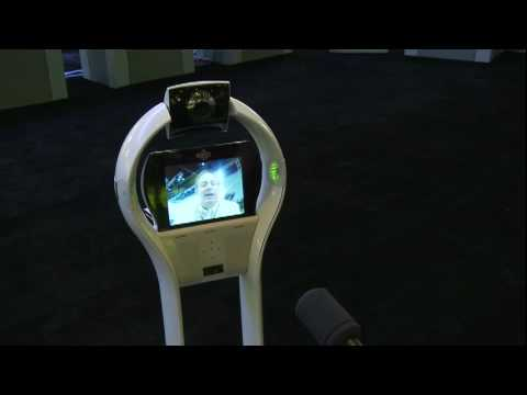 VGo's robotic telepresence is demonstrated at the 2010 Freescale Technology Forum