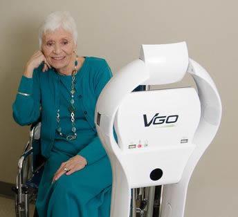 VGo robots extend the reach of the Visiting Nurses Association