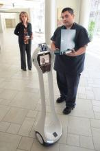 VGo Robot at El Camino Hospital