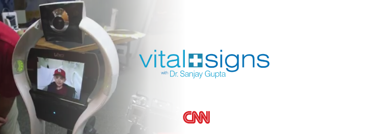 CNN's Dr Sanjay Gupta explores VGo's impact on pediatric care.